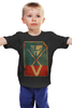 "Детская футболка классическая унисекс ""V - значит вендетта"" - vendetta, anonymous, анонимус, постер, антиутопия"