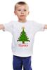 """Детская футболка классическая унисекс """"Подарки Bag"""" - арт, идея, happy new year, новый год, рисунок, подарки, ёлка, presents, упаковка, 2015"""