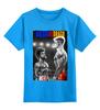 """Детская футболка классическая унисекс """"Ivan Drago & Rocky"""" - рокки, rocky, дольф лундгрен, иван драго, dolph lundgren"""