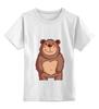 """Детская футболка классическая унисекс """"Плюшка"""""""