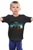 """Детская футболка классическая унисекс """"Безумный Макс / Биг Фут"""" - авто, mad max, безумный макс, kinoart, биг фут"""