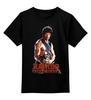 "Детская футболка классическая унисекс ""Rambo"" - rocky, сильвестр сталлоне, rambo, sylvester stallone, рокки бальбоа"