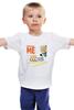 """Детская футболка классическая унисекс """"OOPS - Миньоны """" - minions, миньоны 2015, миньоны в кино"""