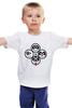 "Детская футболка классическая унисекс ""Kiss (Кисс)"" - rock, smile, kiss, хард-рок, кисс"