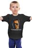 """Детская футболка """"Terminator"""" - кино, arnold schwarzenegger, терминатор, арнольд шварценеггер, the terminator"""