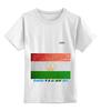 """Детская футболка классическая унисекс """"Флаг Таджикистана"""" - tajlife, флаг таджикистана, душанбе"""