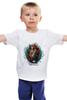 """Детская футболка """"Tard Sparrow """" - кот, арт, стиль, cat, пират, pirate"""