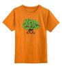 """Детская футболка классическая унисекс """"iCalistini The Love Tree Дерево Любви"""" - счастье, дерево счастья, дерево любви"""