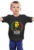 """Детская футболка """"Bob Marley"""" - регги, боб марли, bob marley, reggae, ска"""