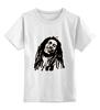 """Детская футболка классическая унисекс """"Я люблю Боба Марли."""" - боб марли, bob marley, рэгги, reaggie"""