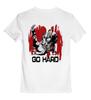 """Детская футболка классическая унисекс """"Он первый начал! """" - путин, putin, патриотические футболки, go hard, путин обама, самбо, боевые исскуства, футболки с путиным, дзюдо"""