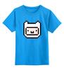 "Детская футболка классическая унисекс ""FINN & JAKE"" - adventure time, время приключений, фин, jake, finn"