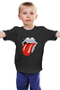 "Детская футболка классическая унисекс ""Rolling Stones x Mad Max"" - rolling stones, mad max, vanhalla"