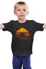 """Детская футболка классическая унисекс """"Безумный Макс (Mad Max)"""" - mad max, безумный макс, road fury, дорога ярости, падальщики"""