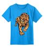 """Детская футболка классическая унисекс """"The Lion King"""" - арт, стиль, лев, lion"""