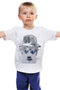 "Детская футболка ""Charlie Chaplin"" - акварель, charlie chaplin, чарли чаплин"