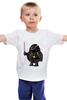 """Детская футболка классическая унисекс """"Fat Darth Vader"""" - star wars, звездные войны, дарт вейдер, обжорство, обжортсов"""