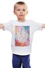 """Детская футболка классическая унисекс """"Inspiration number 1"""" - splash, арт, лето, colors, summer, авторский принт, репродукция, kosa"""