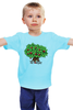 "Детская футболка ""iCalistini The Love Tree Дерево Любви"" - счастье, дерево счастья, дерево любви"