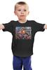 """Детская футболка классическая унисекс """"Политический Юмор"""" - пистолет, ссср, революция, ленин, россия"""