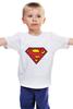 """Детская футболка классическая унисекс """"Superman"""" - супермен, superman, supermen, супергерои"""