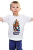 """Детская футболка классическая унисекс """"Лига Правосудия (Маппетсы)"""" - batman, supermen, justice league, muppets, маппетсы"""