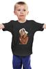 "Детская футболка классическая унисекс ""Briggite Bardot color"" - девушки, актрисы, брижит бардо, brigitte bardot, kinoart"