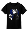 "Детская футболка классическая унисекс ""Шерлок (BBC)"" - sherlock, skull, череп, шерлок, bbc"