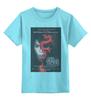 """Детская футболка классическая унисекс """"Девушка с татуировкой дракона"""" - девушка, дракон, тату, афиша, kinoart"""