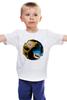 """Детская футболка классическая унисекс """"Scorpion x Sub-Zero (Mortal Kombat)"""" - mortal kombat, файтинг, смертельная битва, мортал комбат, мк"""