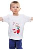 """Детская футболка классическая унисекс """"Rabbit_man"""" - fun, nice"""