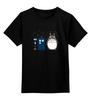 """Детская футболка классическая унисекс """"Вперёд Тоторо"""" - аниме, doctor who, тоторо, доктор кто, тардис"""