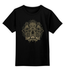 """Детская футболка классическая унисекс """"Осьминог"""" - ктулху, octopus, иллюстрация, осьминог"""