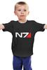 """Детская футболка """"N7 (Mass Effect)"""" - mass effect, n7, масс эффект"""
