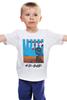 """Детская футболка классическая унисекс """"Easy Rider"""" - флаги, иероглифы, kinoart, easy rider, беспечный ездок"""