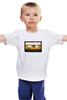 """Детская футболка классическая унисекс """"Кассета BASF"""" - кассета, basf"""