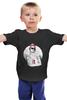 """Детская футболка классическая унисекс """"Hipster wom"""""""