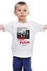"""Детская футболка классическая унисекс """"Pulp Fiction"""" - винтаж, tarantino, тарантино, криминальное чтиво, pulp fiction"""