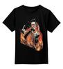 "Детская футболка классическая унисекс ""Зомби Рок-Гитарист"" - zombie"