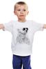 """Детская футболка классическая унисекс """"Белый Медведь"""" - bear, медведь, белый медведь"""