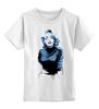 "Детская футболка классическая унисекс ""Monroe Blue's"" - blue, мэрилин монро, marilyn monroe, monroe"