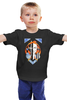 """Детская футболка классическая унисекс """"Двуликая"""" - девушка, авторский, мозаика, яркий принт, двуликая"""