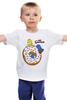 """Детская футболка классическая унисекс """" The Simpsons/Симпсоны"""" - симпсоны, гомер симпсон, пончик, the simpsons, donut"""