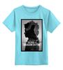 """Детская футболка классическая унисекс """"Девушка с татуировкой дракона"""" - дракон, tattoo, тату, афиша, kinoart"""
