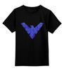 """Детская футболка классическая унисекс """"Найтвинг (Nightwing)"""" - dc comics, найтвинг, nightwing"""