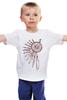 """Детская футболка классическая унисекс """"Ловец снов 2"""" - символ, ловец снов, перья, dreamcatcher, ловец"""