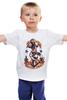 """Детская футболка классическая унисекс """"Donald"""" - мультики, якорь, прикольные, anchor, donald duck, the sailor, моряк, angry bird"""
