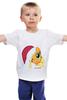 "Детская футболка классическая унисекс ""New Year AppleJack"" - mlp, my little pony, пони, applejack, new year, aj"