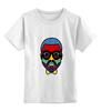 "Детская футболка классическая унисекс ""Kanye West"" - арт, иллюстрация, kanye west, рэпер, канье уэст"