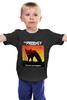 """Детская футболка классическая унисекс """"The Prodigy"""" - музыка, популярное, великобритания, the prodigy, брейкбит"""